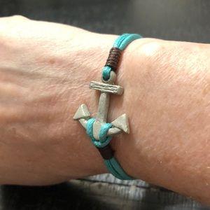 LAST ONE! NWT Anchor Turquoise Bracelet!